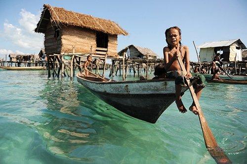 the Bajau Laut tribe
