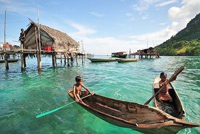 Indonesian Sea Gypsies: the Bajau Laut tribe